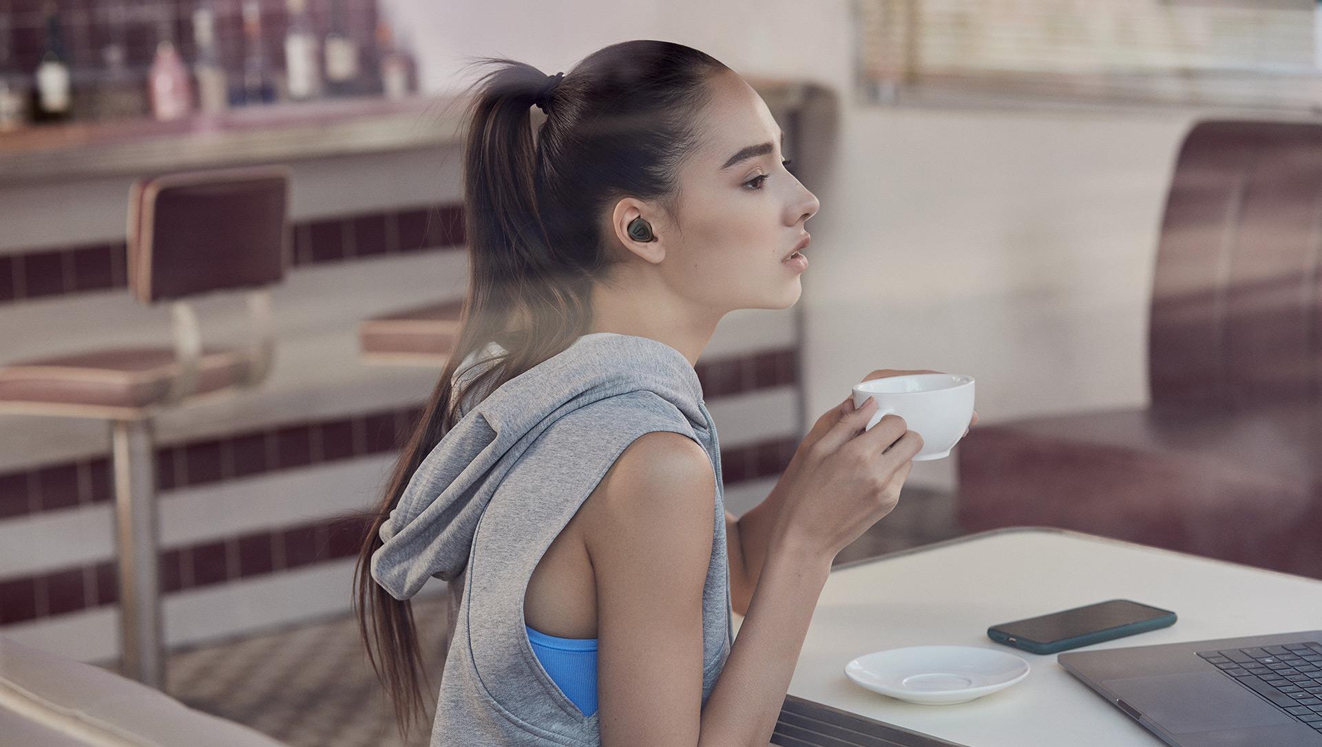 Hiệu suất làm việc cực khủng của tai nghe bluetooth trueshift 2