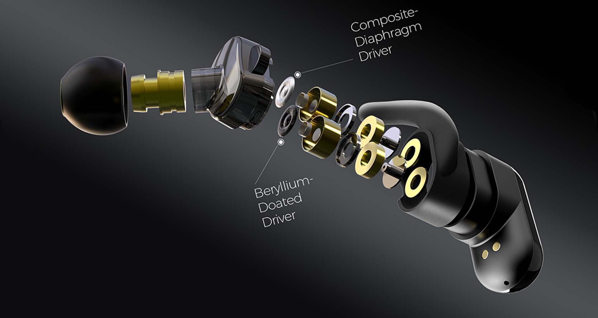 Trang bị chipset Qualcomm QCC3020 hiệu suất mạnh mẽ