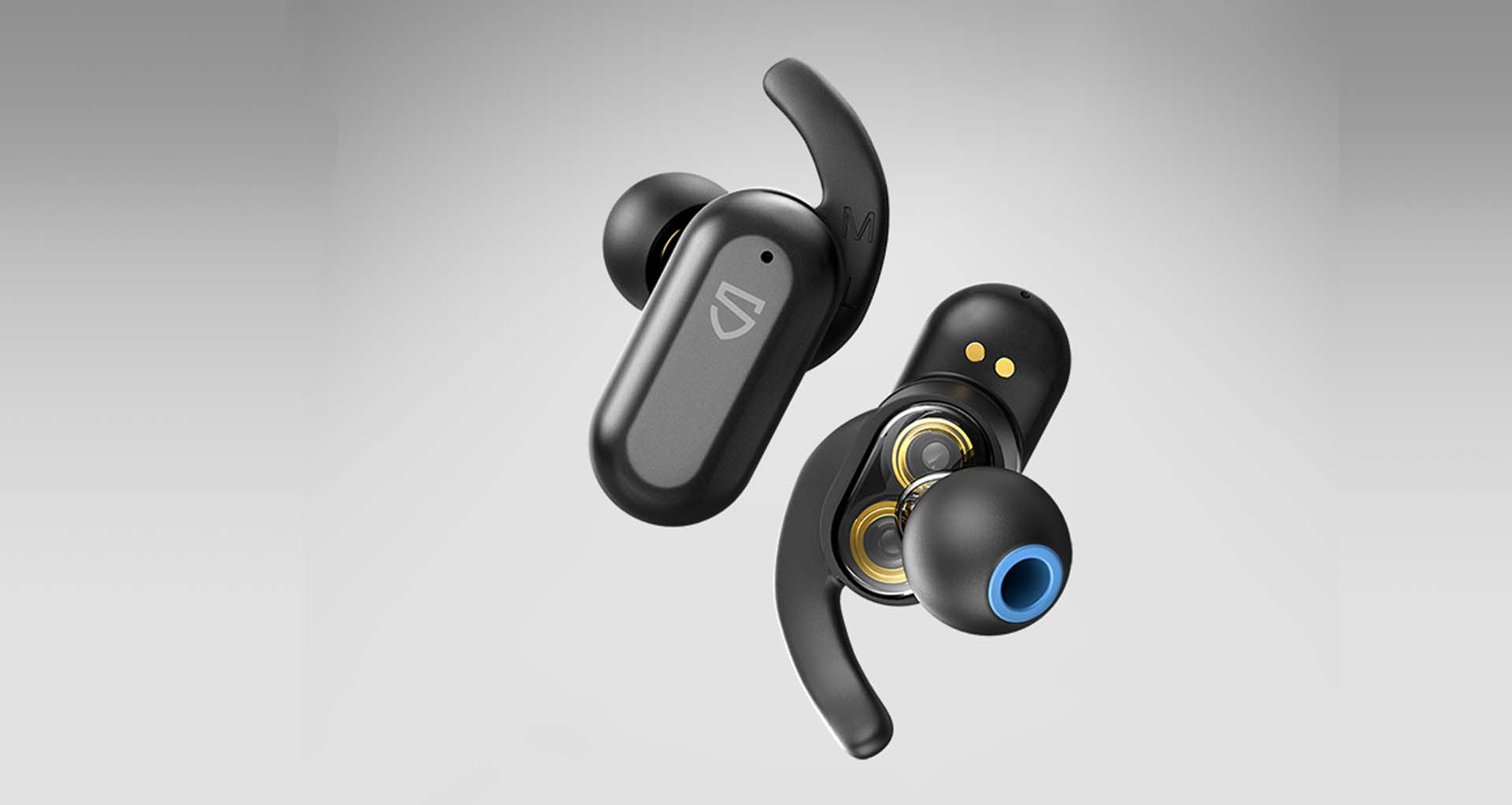 Thiết kế đẹp mắt của tai nghe bluetooth soundpeats truengine 2