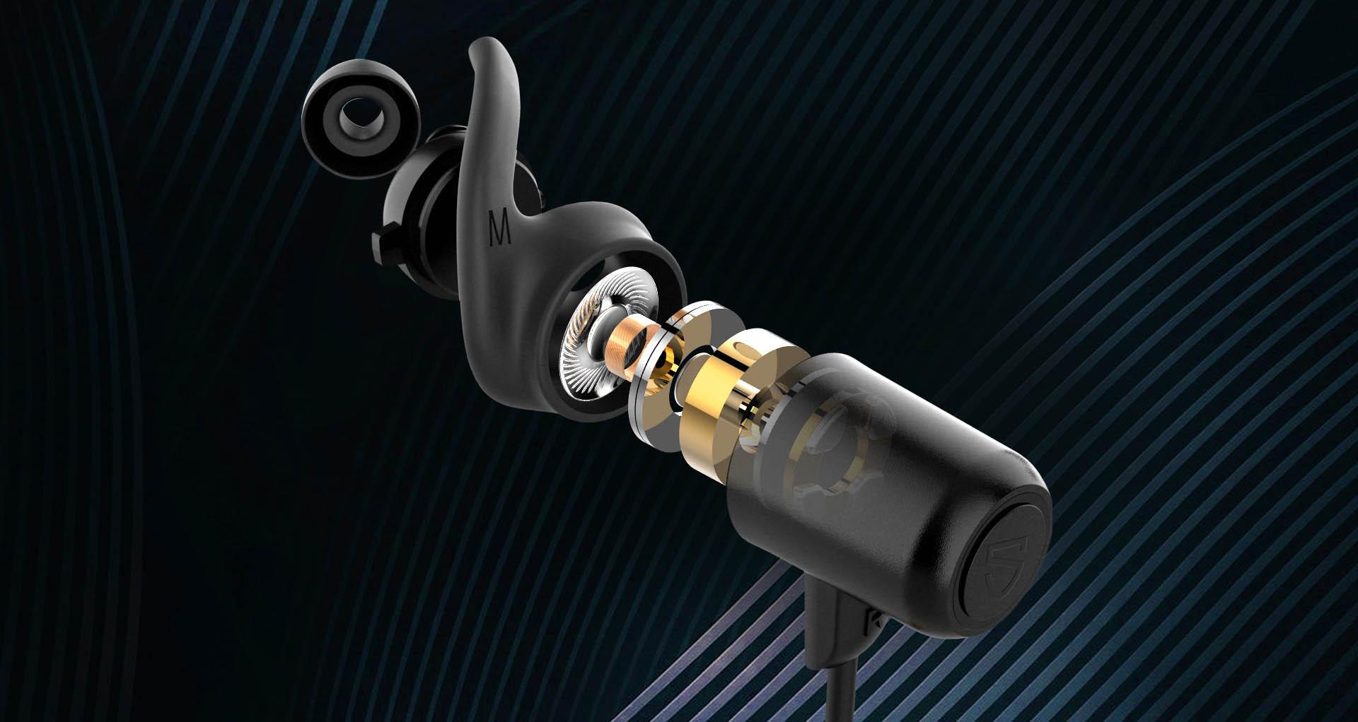 Tai nghe soundpeats Q35 HD với âm thanh chất lượng cao
