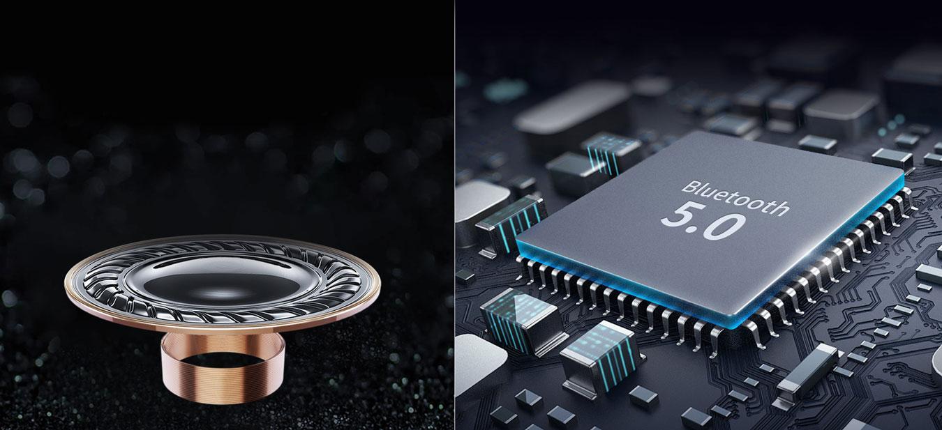 Trang bị chipset mạnh mẽ mang đến hiệu năng cho tai nghe bluetooth soundpeats truefree plus vượt trội