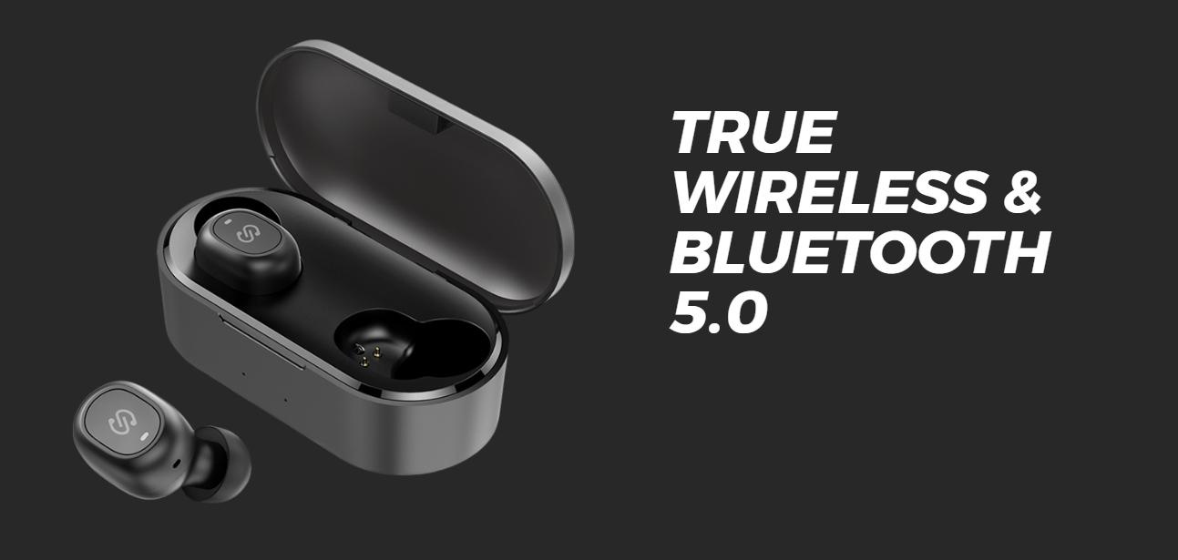 Tai nghe Soundpeats truefree có trang bị công nghệ bluetooth 5.0