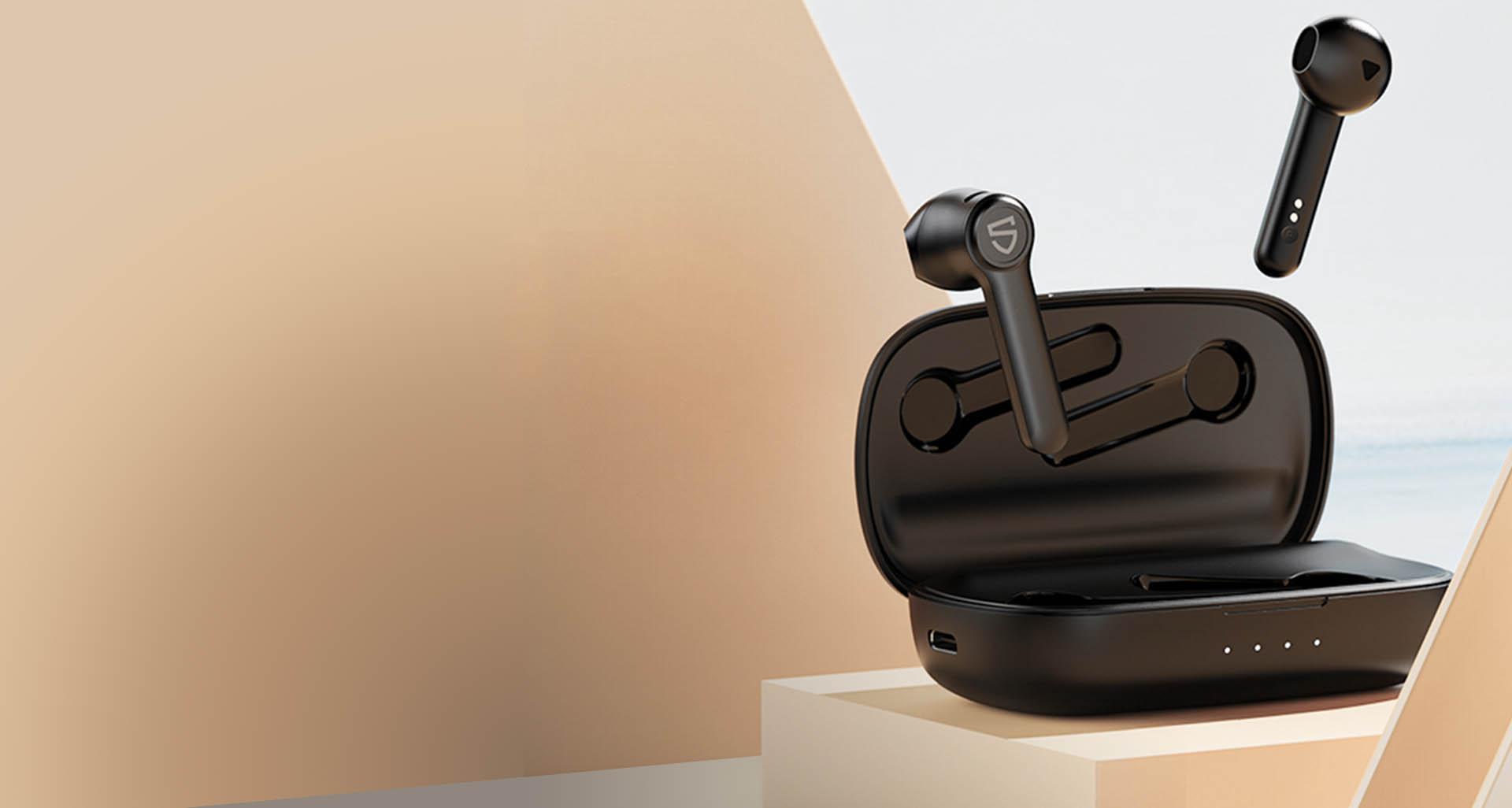 tai nghe bluetooth Soundpeats TrueBuds cải tiến cấu hình âm thanh mạnh mẽ