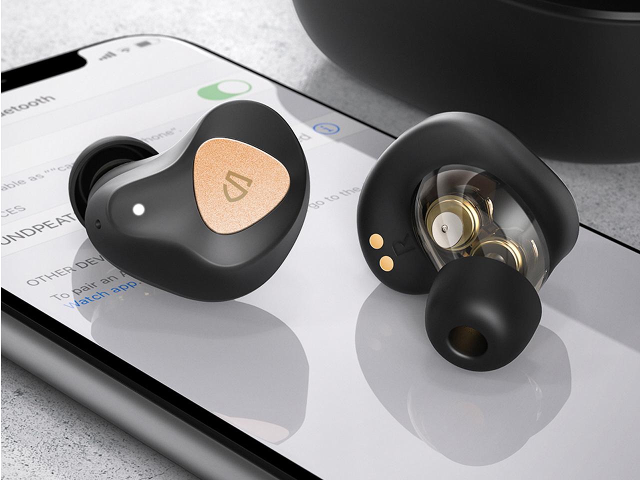 Tai nghe Soundpeats Truengine 3SE kết nối dễ dàng