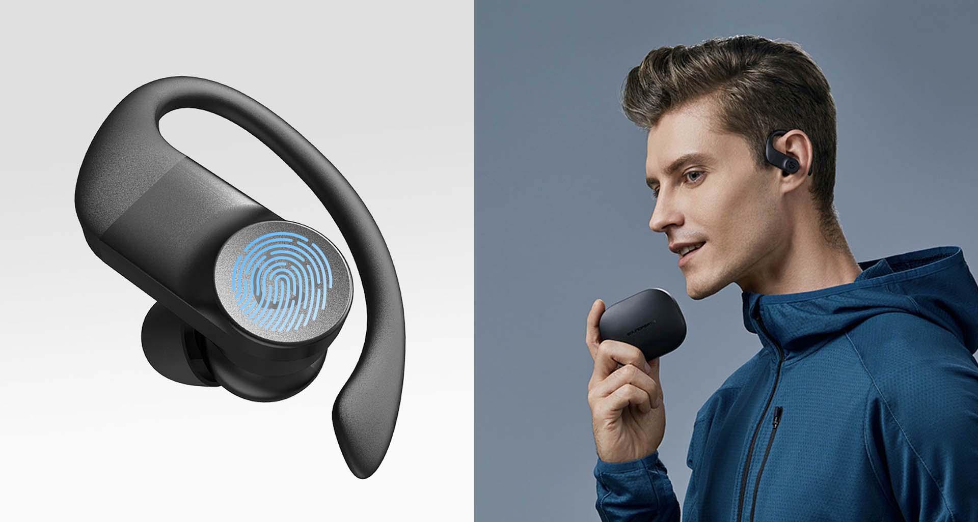 Tai nghe bluetooth Soundpeats TrueWings cảm ứng nhanh nhạy