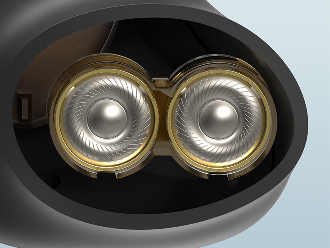 Tai nghe Soundpeats Truengine 3SE vớ bộ điều khiển động và mic kép