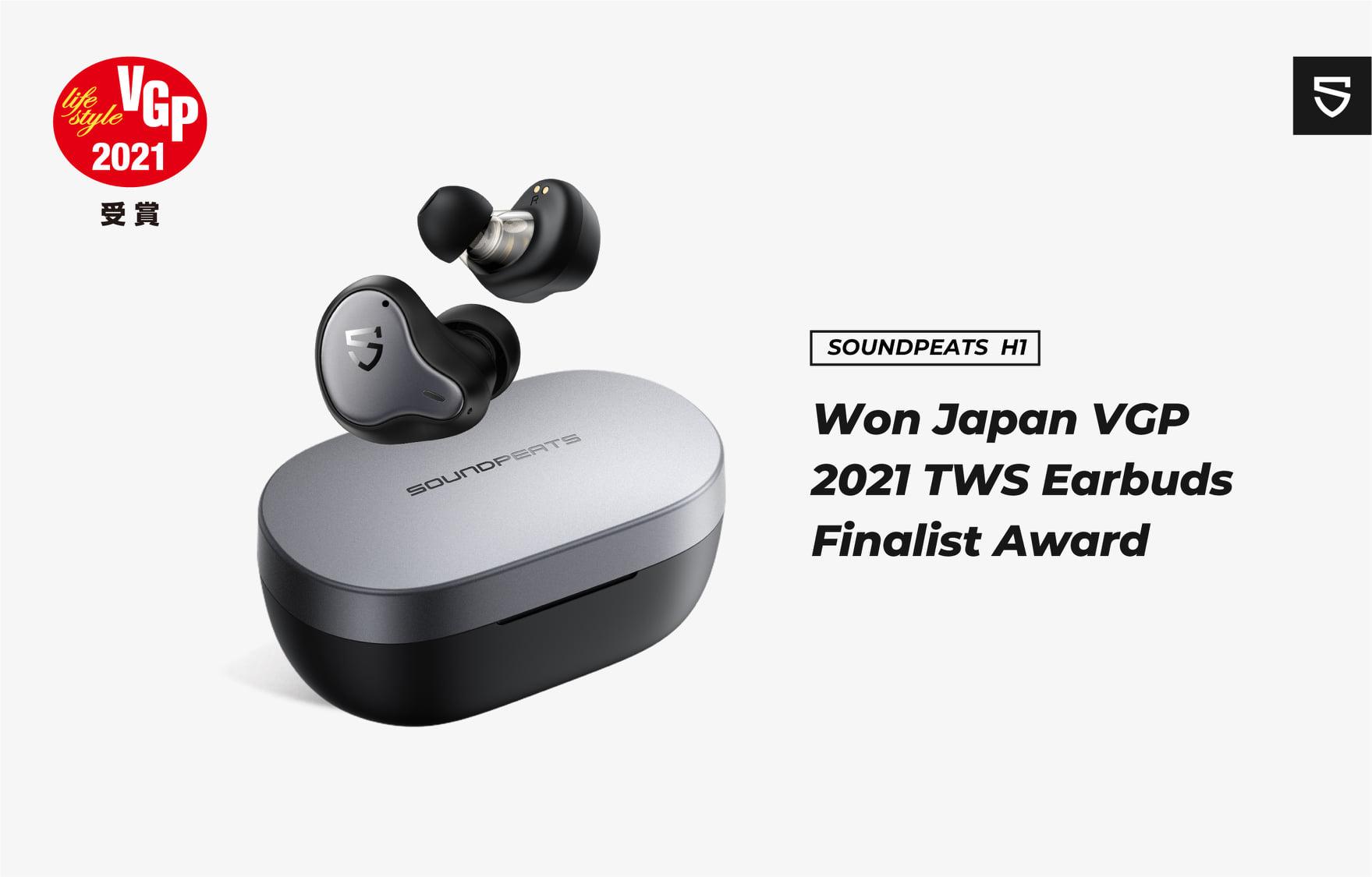 SoundPEATS H1 nhận giải lọt vào chung kết VGP 2021