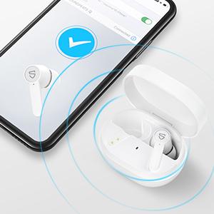 Tai nghe bluetooth soundpeats Q kết nối chỉ với 1 bước đơn giản