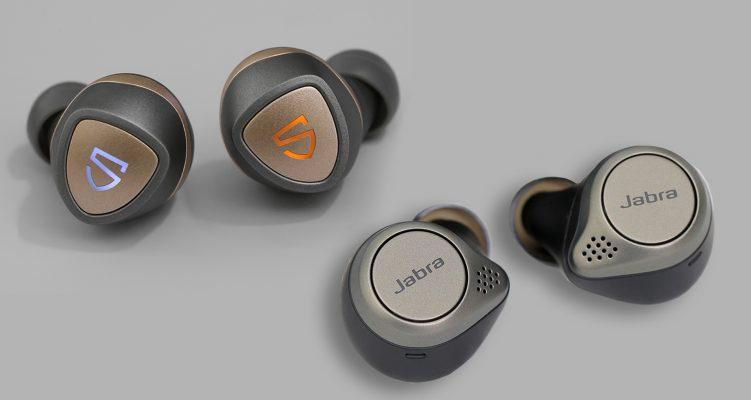 so sánh tai nghe Soundpeats sonic và jabra elite 75T
