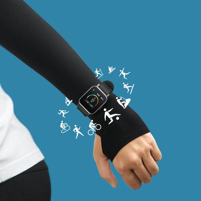 Đồng hồ thông minh SoundPEATS Watch 1 trang bị 12 chế độ thể thao