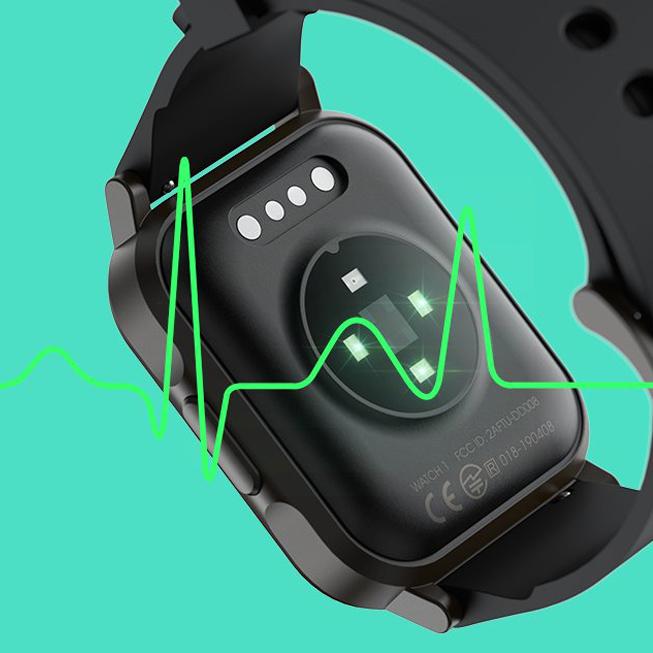 SoundPEATS Watch 1 là đồng hồ đo nhịp tim chính xác