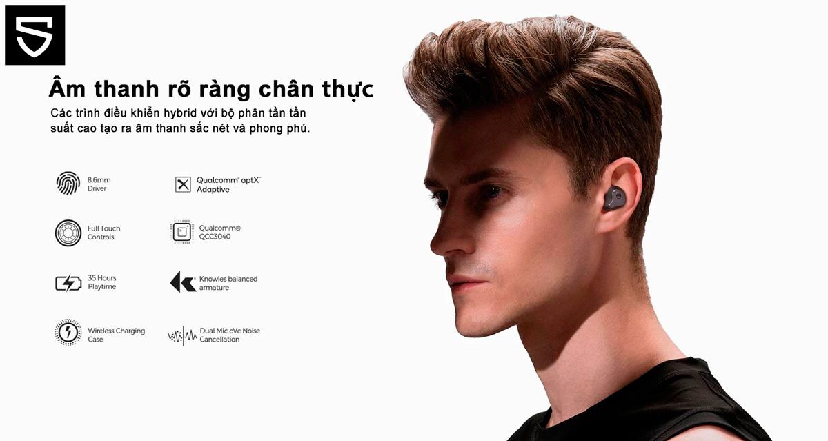 Tai nghe không dây SoundPEATS H1 với những tính năng hoàn toàn mới