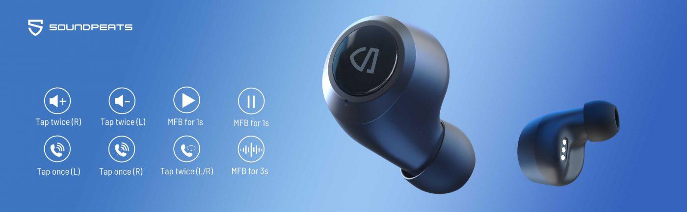 Hướng dẫn sử dụng tai nghe soundpeats freedots