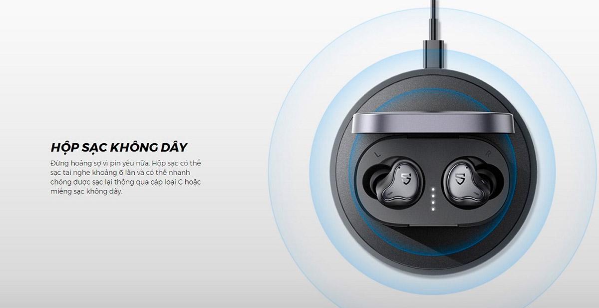 Tai nghe không dây SoundPEATS H1 mang đến trải nghiệm âm thanh hoàn hảo