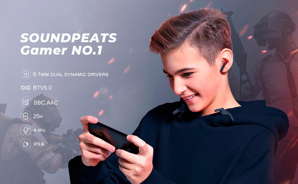 Tai nghe Bluetooth SoundPEATS Gamer No.1 mang đến trải nghiệm Game vượt trội