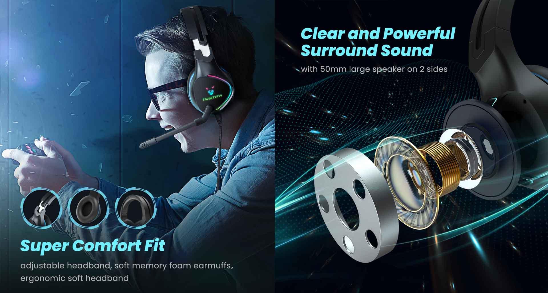âm thanh tai nghe soundpeast g1